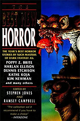 book cover of The Best New Horror 5