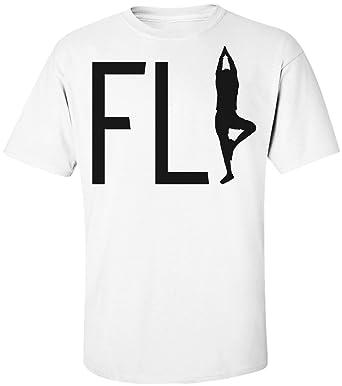 Fly Yoga Human Silhouette Camiseta de hombre Mens T-Shirt ...