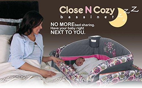 Babytrend Mini cuna de viaje/cuna de colecho. No Más cama compartir. Tienen su bebé derecho junto a ti: Amazon.es: Bebé