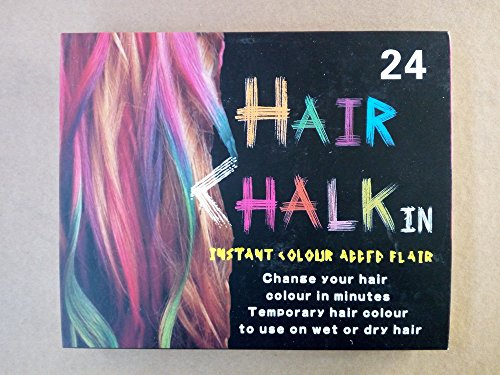 Bre Hair Color Changing Hair Chalk (24 pcs)