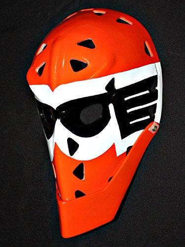 - 1:1 Custom Vintage Fiberglass Roller NHL Ice Hockey Goalie Mask Helmet Wayne Stephenson HO89