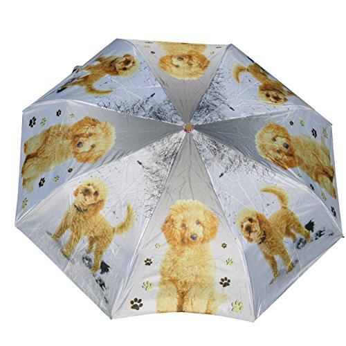 Lab Umbrella - Vizsla GerShep Golden Glddoodle Daschund Cocker Lab Horse auto open umbrella