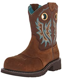Ariat Women's Fatbaby Cowgirl Composite Toe Work Boot