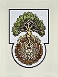 Ouroboros Tree- Digital Art Print - Arbor - Great...
