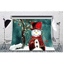 LB 7x5ft Xmas Snowman Poly Fabric Christmas Photo Backdrops Customized Studio Photography Backdrop Background Studio Props SDX12