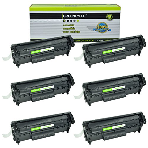 104 Laser Cartridge - GREENCYCLE 6PK Compatible Canon 104/FX9 /FX10 Toner Cartridge FX-9/FX-10/C104 use in Canon imageCLASS D420 D480 MF4150 MF4270 MF4350D MF4370DN MF4690 & FAXPHONE L90 L120