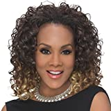 Vivica A. Fox HW-TWEEDY Synthetic Fiber, 3/4 Half Wig in Color FS430