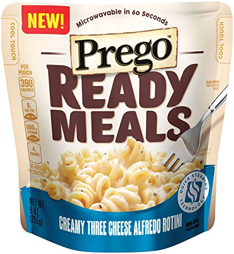 prego-ready-meals-9oz-pouch-pack-of-4-choose-flavors-below-creamy-three-cheese-alfredo-rotini