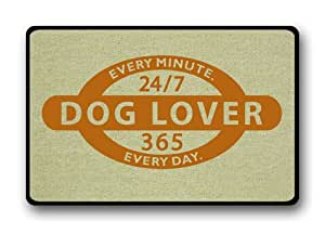 Customize Dog Lover 24/7 Floor Doormat