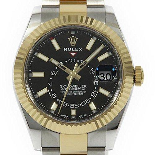 Rolex Sky-Dweller 42mm Stainless Steel & 18K Yellow Gold Watch 326933
