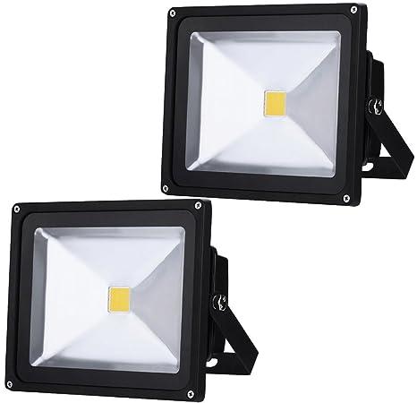 Auralum® 50W llevó el reflector Proyector de exterior del ...