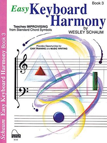 Easy Keyboard Harmony Bk 3