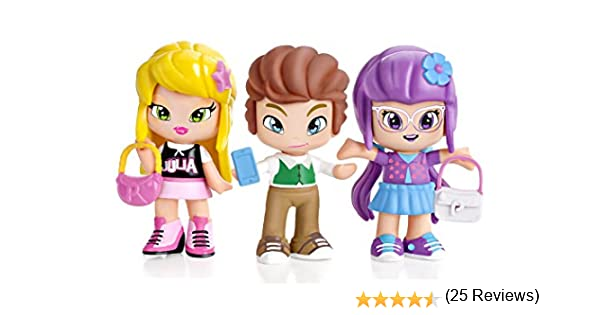 Amazon.es: PINY Pinypon by Pack de 3 figuras, Julia, Lilith y Will ...