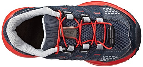 Salomon SalomonXR Mission K - Zapatillas de Running para Asfalto Niños-Niñas Gris - Grau (Grey Denim/Deep Blue/Bright Red)