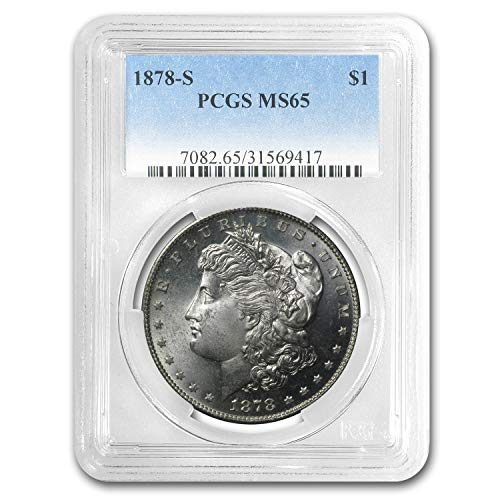 1878 S Morgan Dollar MS-65 PCGS $1 MS-65 PCGS