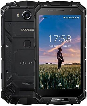 K-S-Trade® Top Set para Doogee S60 Soporte Ranura de CD Smartphone ...