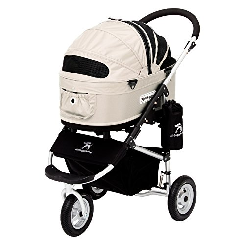 AirBuggy for Dog – Dome2 Standard Medium – Royal Milk (NO INTERNATIONAL SHIPPING) For Sale