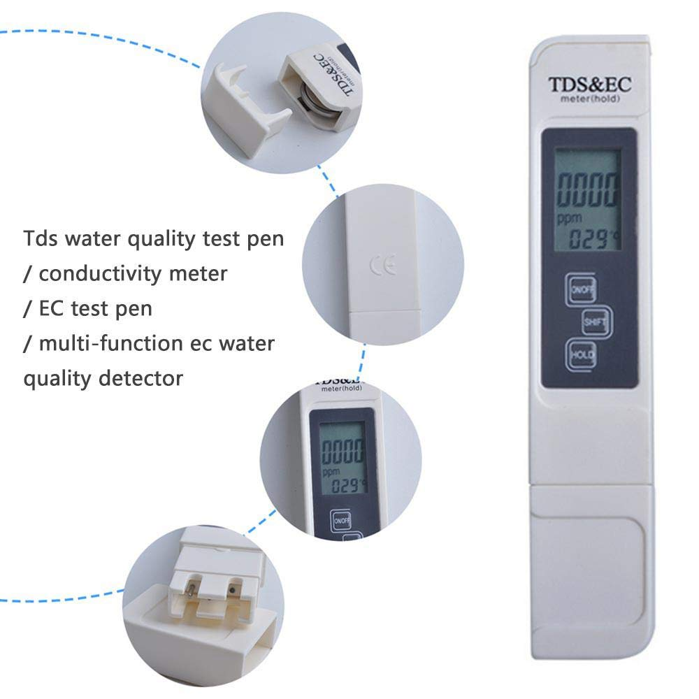 Amazon com: Womdee Water Quality Tester, TDS Meter Digital