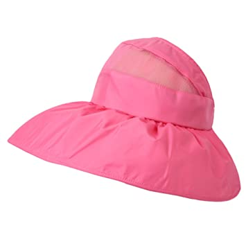 Phoenix Wonder Gorra de protección UV de ala Ancha Ajustable para ...