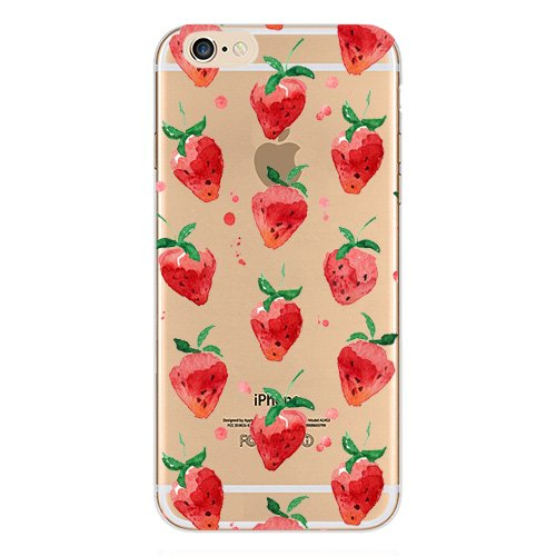 3fdfc4862a Fancy Case Compatible with iPhone 8 Plus/iPhone 7 Plus New Hybrid Fruits  and Flowers