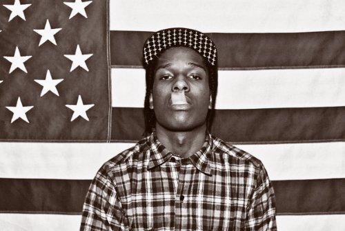Poster Print A$AP Rocky - Flag