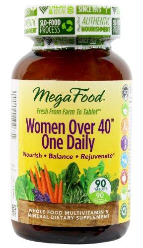 MegaFood женщин старше 40 один ежедневный таблетки, 90 граф