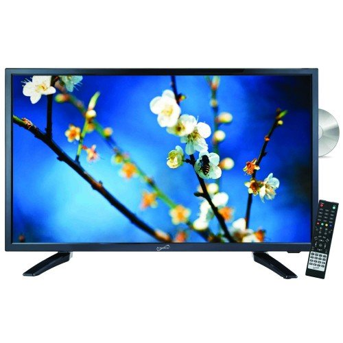 Exclusive Supersonic SC-2212 22 Widescreen LED HDTV with Bui
