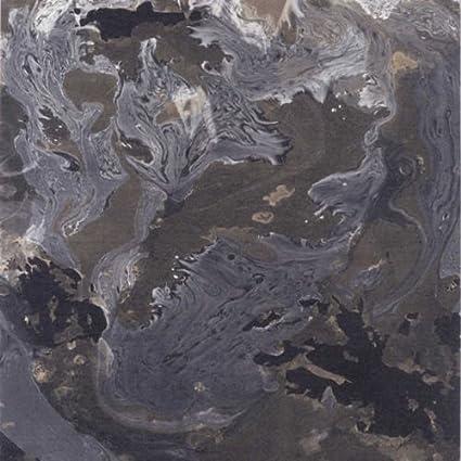 81139801 Edison Quarzo Nero Effetto Marmo Casadeco Wallpaper