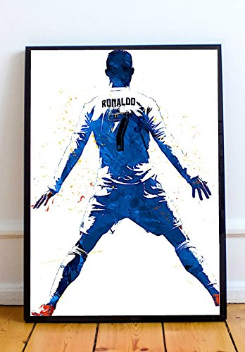 Cristiano Ronaldo Limited Poster Artwork - Professional Wall Art Merchandise (More Sizes Available) (16x20)
