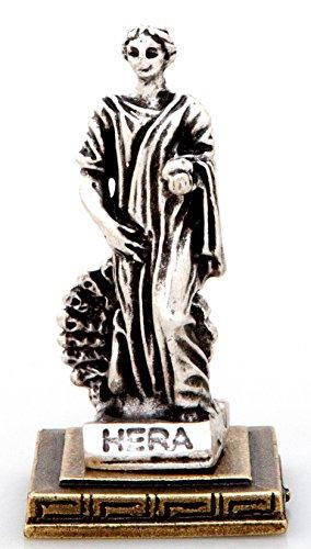 Ancient Greek Zamac Miniature Statue of Hera (1336)