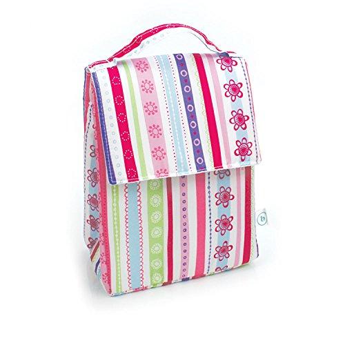 Bumkins Lunch Bag, Pink Ribbons by Bumkins