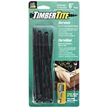 The Hillman Group 47805 Timbertite Landscape Screw, 1/4 by 6-Inch