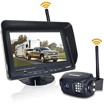 backup camera and monitor kit for bus truck semi trailer box truck rv trailer. Black Bedroom Furniture Sets. Home Design Ideas