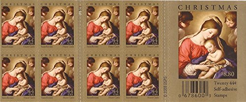 Us Stamps Booklet Pane - US Stamp - 2009 Christmas - Booklet Pane of 20 Stamps - Scott #4424