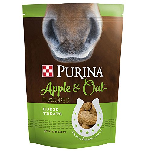 Purina Animal Nutrition Purina Horse Apple and Oat Treats 3 5lb