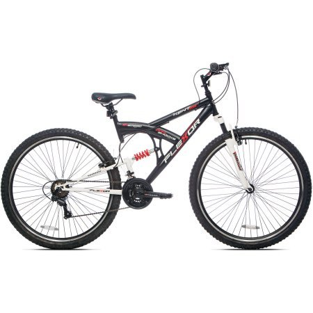 29'' Dual-Suspension Frame, Men's Kent DS Flexor Mountain Bike, Black by Kent