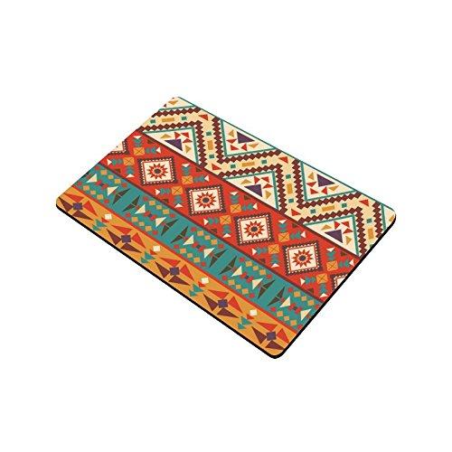 Interestprint Colorful Navajo Anti Slip Door Mat Home