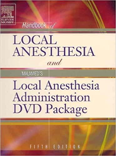Handbook of Local Anesthesia: Text with Malamed's Local Anesthesia