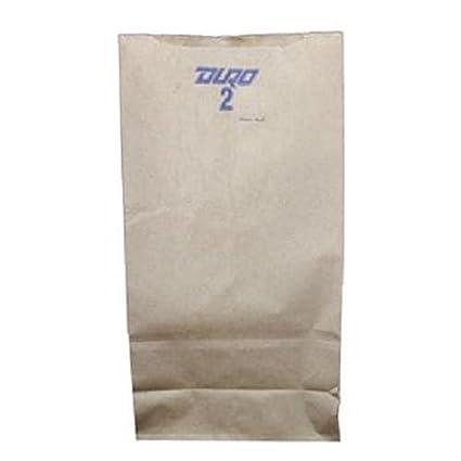 Producto Ofduro, # 2 lb marrón bolsa de papel, número 500 ...