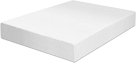 Best Price Mattress 12 Memory Foam Mattress Easy Set-Up Steel Platform Bed Steel Bed Frame Set