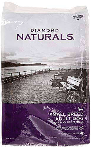 Diamond Naturals Small Breed Adult Real Meat Recipe Premium Dry Dog Food with Real Cage Free Chicken 18lb