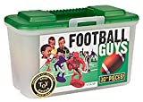 : Kaskey Kids Football Guys: Red vs. Blue  Inspires Imagination with Open-Ended Play  Includes 2 Full Teams and More  For Ages 3 and Up