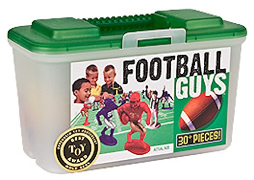 Action Football (Kaskey Kids Football Guys: Red vs. Blue  Inspires Imagination with Open-Ended Play  Includes 2 Full Teams and More  For Ages 3 and Up)