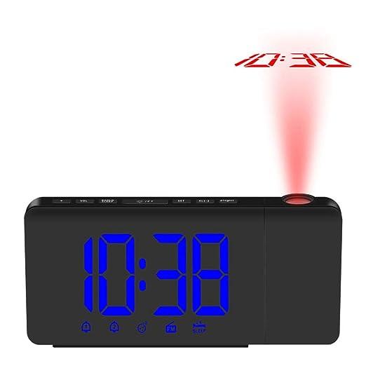 Despertador Proyector De Estrellas Reloj Reloj Despertador De ...