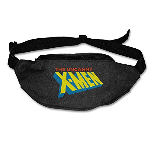 [The Uncanny X-Men Womens Costume Oxford Cloth Polyester Fanny Pack Ith Adjustable Belt Black] (X Men Juggernaut Costume)