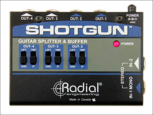 Radial Engineering Shotgun 4 Channel Amp Driver from Radial Engineering