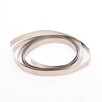 huplue 1 pcs Pure Ni placa de níquel tira de cinta para Li 18650 recargable Spot soldadura plata herramientas al aire libre: Amazon.es: Deportes y aire ...