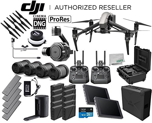 DJI Inspire 2 Quadcopter Cinema Premium Combo Bundle with DJI Inspire 2 Battery Station