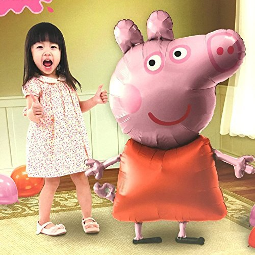 (Peppa Pig Air Walker Balloon Party Birthday Decoration by Anagram)