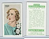 #9: G12-100 Gallaher, Stars Of Screen & Stage, 1935, #41 Madge Evans